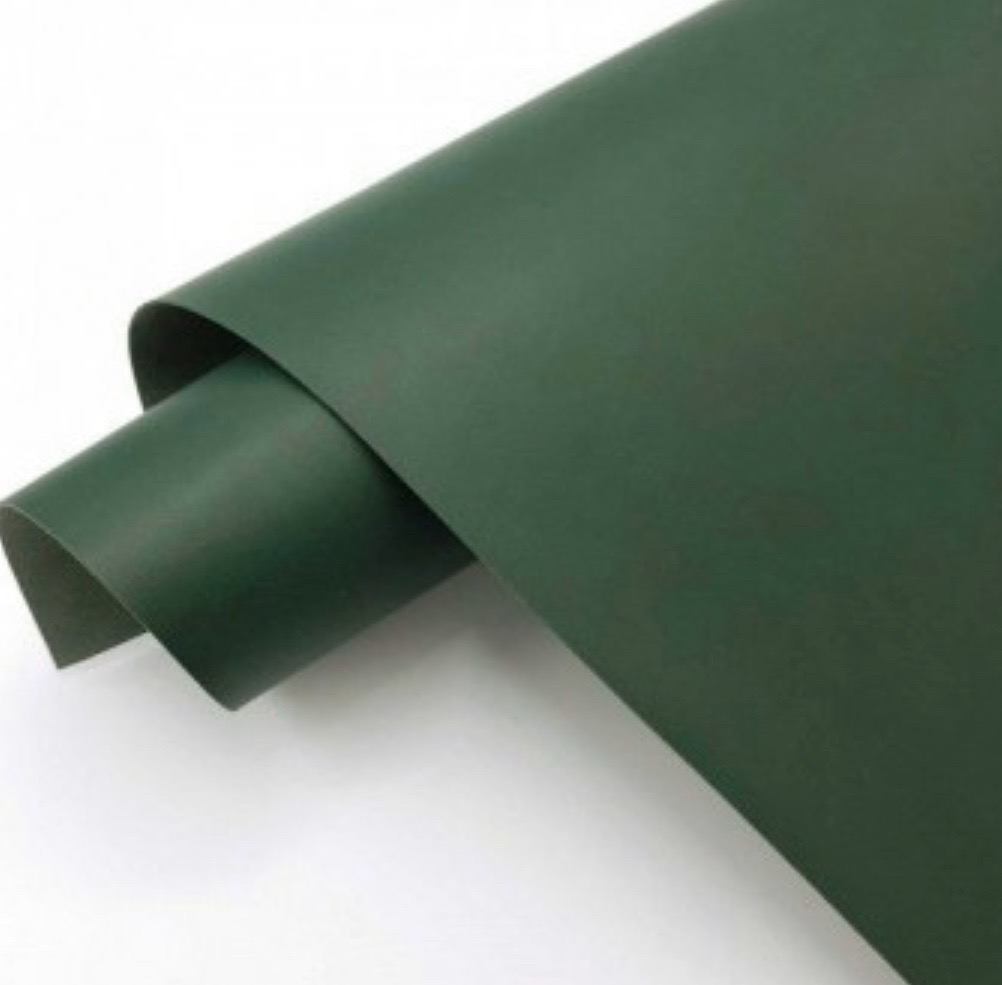 Матовый темно-зелёный